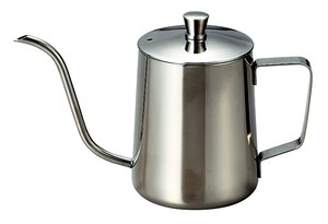 Coffee Drip Pot Silver