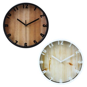 Wall Clock Branch Black White