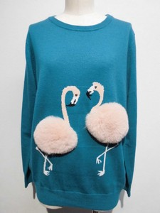 Flamingo Knitted Pullover
