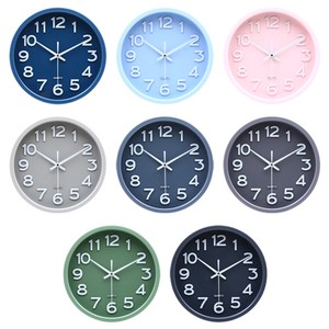 Wall Clock 30cm 8 Colors