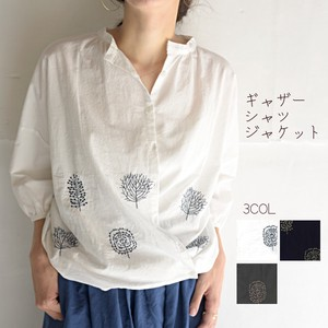 Original Embroidery Shirt Jacket