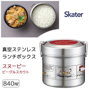 Heat Retention Lunch SKATER Vacuum Stainless Lunch Box Snoopy Big Totoro