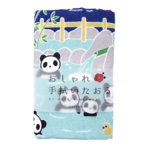 Hand Towel Towel Hot Springs Panda Bear
