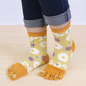 Toe Print Five Fingers Culture Tabi Socks Socks Kyoto