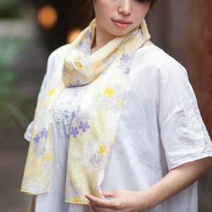 Long Cotton Scarf