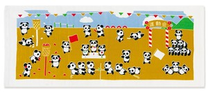 Hand Towel Towel Panda Bear Sports Day