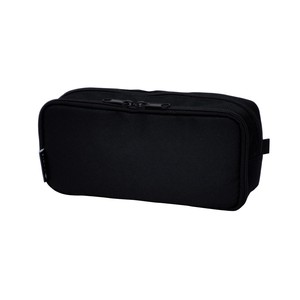 Pencil Case Round Box Black