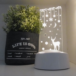 LED Light LED Accessory Stand Fancy Goods Reindeer