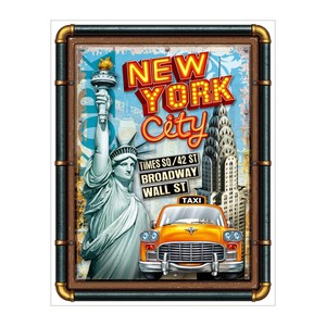 LED American New York LED Sticker