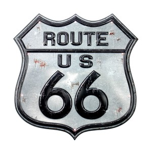 American LED Sticker Route 66