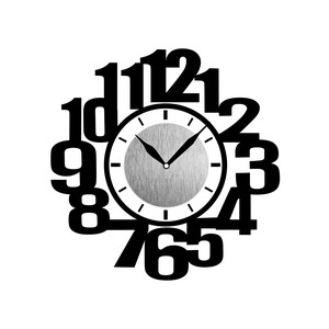 Wall Clock Sticker Clock/Watch Sticker Clock/Watch Sticker Number
