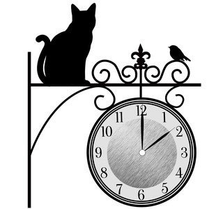 Wall Clock Sticker Clock/Watch Sticker Clock/Watch Sticker