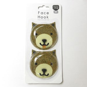 Adsorption Sheet Hook 2 Pcs bear