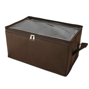 Dear Storage Box DVD DVD Storage Case Non-woven Cloth Brown