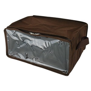 Dear Storage Box Magazine Magazine Storage Case Non-woven Cloth Brown