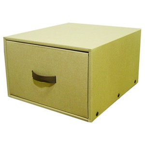 Craft Storage Case Black Costume Case Cardboard Box Storage Attached