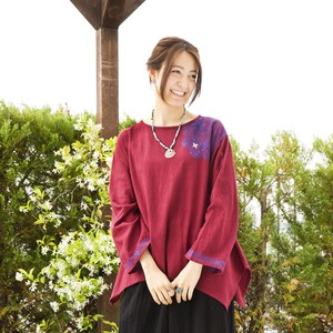 Cotton Lux Embroidery Pullover