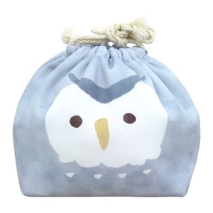 Pouch Lunch Pouch Lunch Cold Insulation Pouch Gray Owl