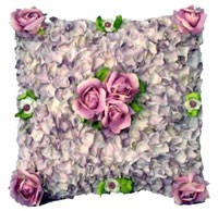Flower Petal Cushion Cover
