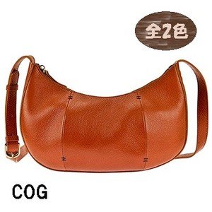 Ladies Crescent Moon Shoulder Bag Genuine Leather