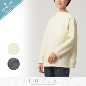 Wool Knitted Kersey Bottle Neck Pullover