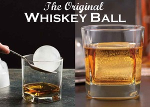 Whiskey Ball Ice Tray 6 Pcs Set Silicone