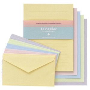 colored Writing Papers & Envelope Powder