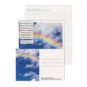 Photo Writing Papers & Envelope Rainbow