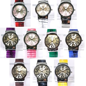 Pole Watch Color Bellows Band 10 Colors Bracelet Watch Ladies Wrist Watch