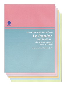 colored Letter Pad Powder