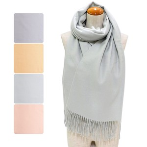 Big A/W Stole Pastel Color Plain Stole