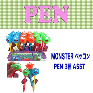 PEN Monster Ballpoint Pen 3 Types Stationery Stationery Pop