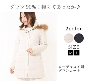 Down Water Repellent Down Ladies Outerwear Down Coat Washing