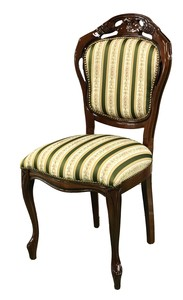 Dining Chair Stripe Fabric