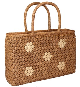 Mountain Grapes Basket Bag Persimmon -Dyed