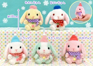 """Poteusa Loppy"" Rabbit Soft Toy Snowman Size LMC"