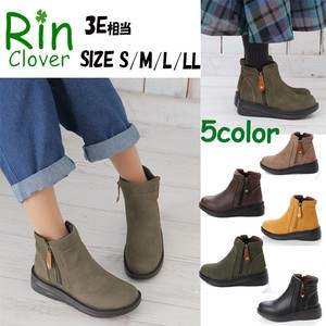 Rin Clover Double Zipper Boots