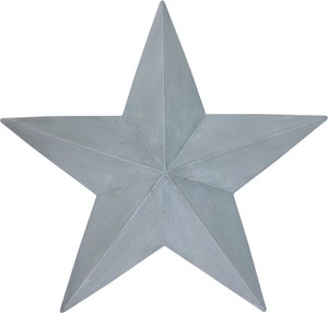 Star Solid Color Ornament