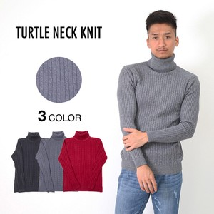 Men's Cable Turtle Knitted Items