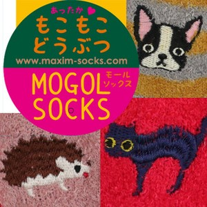 Material Cover Socks Animal Embroidery