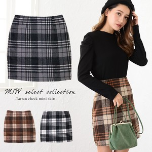 Appreciation Tartan Check Mini Skirt Skirt Short