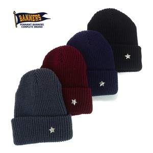 Star pin Knitted Watch Cap Young Hats & Cap