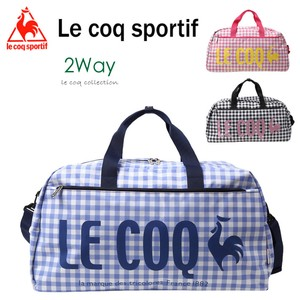 Lecoq Boston Lecoq Sport Tote Bag Checkered