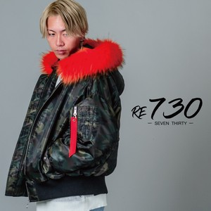 A/W Color Fur Deformation With Hood Unisex Fur Removable