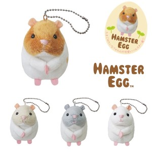 Hamster Eggs with Ball Chain strap