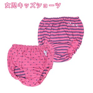 Girl For Kids Shorts 2 Pcs Pink Fabric Double 30cm