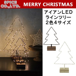 Christmas Iron Line Tree