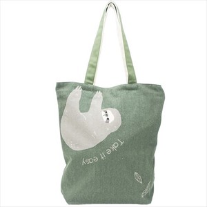 Fastener Attached Canvas Tote