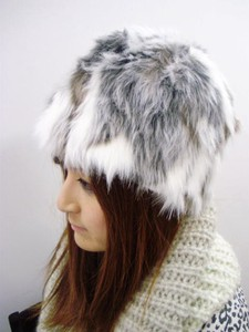 Color Fur Hats & Cap