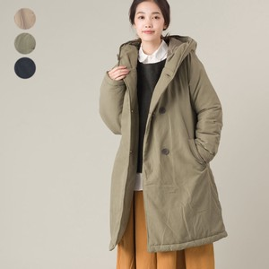 Padding Food Long Coat 2018 A/W